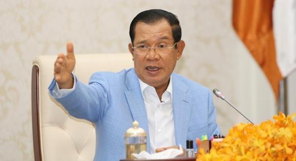 洪森表示攜手抗疫將柬中兩國關係提升到新高度