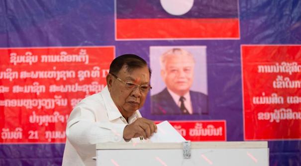 老撾舉行第九屆國會選舉