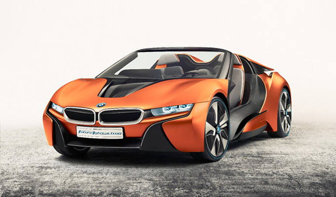 BMW i Vision Future Interaction概念車