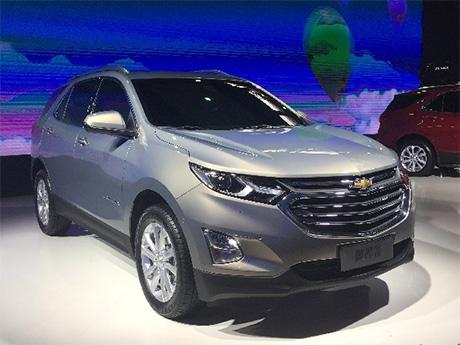 雪佛蘭全球戰略中型SUV探界者亮相廣州車展