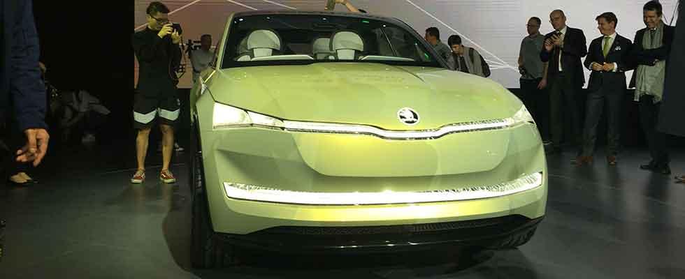 斯柯達VISION E全球首秀 明銳旅行車將三季度上市
