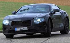 賓利新一代歐陸GT諜照曝光 搭載600馬力W12引擎