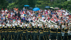 駐澳部隊舉行軍營開放活動
