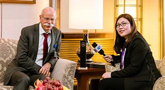 奔驰蔡澈:融入中国高质量发展新时代
