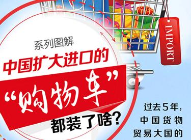 """中国扩大进口的""""购物车""""都装了啥?"""
