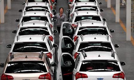 中汽協:2019年全國乘用車銷售同比下降9.6%