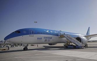 北京大興國際機場進行真機驗證