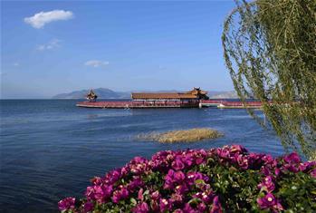 云南大理:洱海景色秀丽