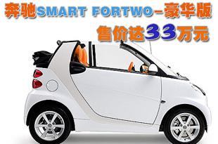 奔驰smart fortwo推豪华版 售价达33万元高清图片