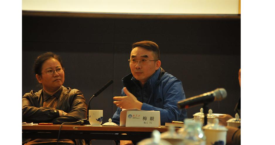 國家一級作家、央視百家講壇主講人梅毅