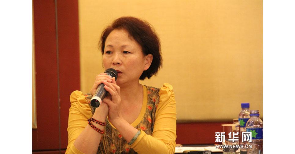 汶川地震親歷者楊雲青的妻子來到現場