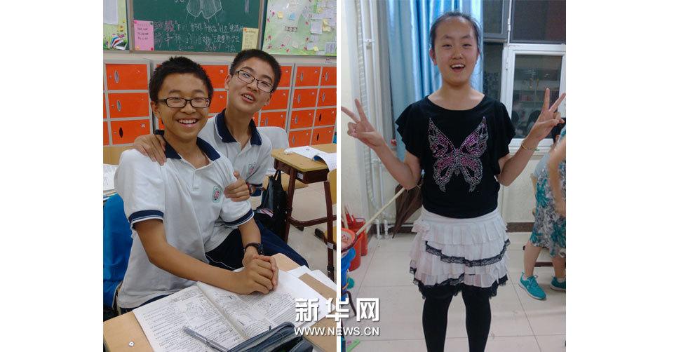 小作者的快樂生活:劉源博(左) and 張晨淼