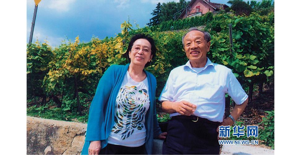 與夫人秦小梅在土耳其