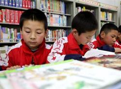 甘肅天水農家書屋:書香飄散的農村