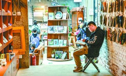 全民暢讀書店:老物件與新創意