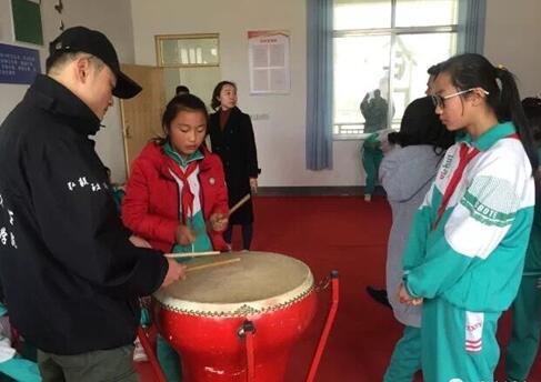 山东临沂音乐学院在大众希望小学正式启程