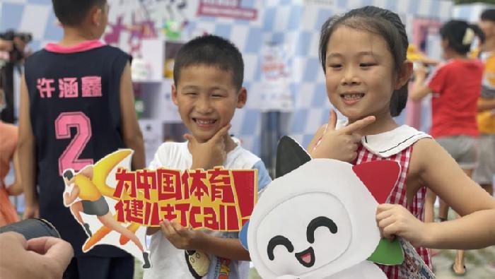 湖北體彩進社區 為中國奧運健兒加油喝彩