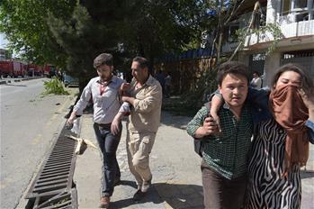 阿富汗首都使館區遭遇重大爆炸襲擊