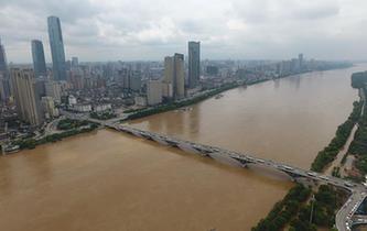 洪水致湖南787萬余人受災