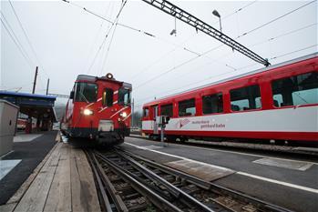 瑞士兩列火車相撞約30人受傷