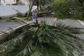 颶風過後的邁阿密