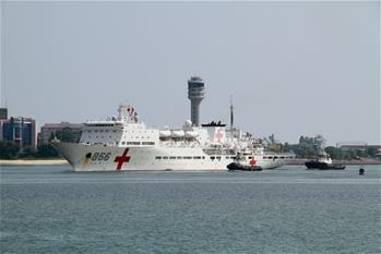和平方舟醫院船時隔七年再訪坦桑尼亞