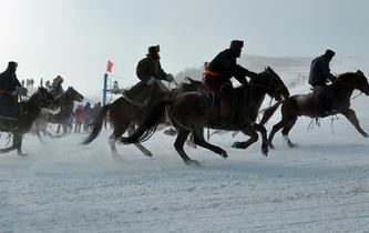 內蒙古牙克石舉辦鳳凰山開雪節