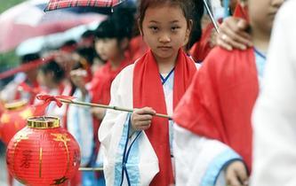 """杭州舉辦""""送春迎夏""""古禮儀式"""