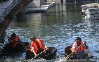 南太湖古村舉辦水鄉民俗文化節