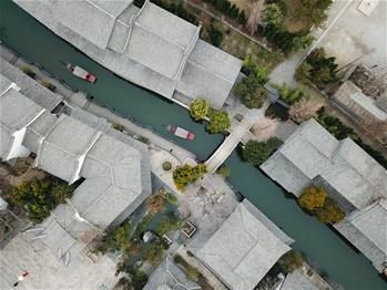 山东台儿庄:古城水乡显春意
