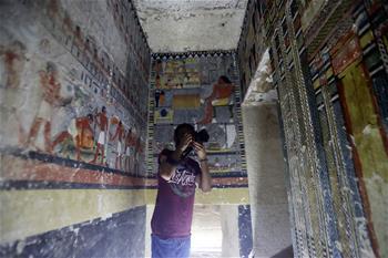 埃及塞加拉發現一座第五王朝時期貴族墓葬