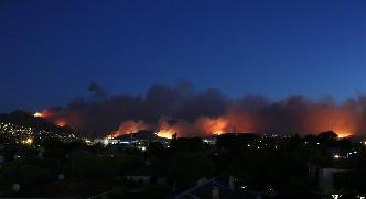新西蘭一城市因山火進入緊急狀態