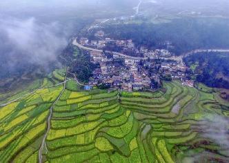 貴陽高坡鄉:雲霧輕飄似仙境
