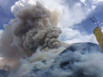四川雅江森林火災持續一周 暫無人員傷亡