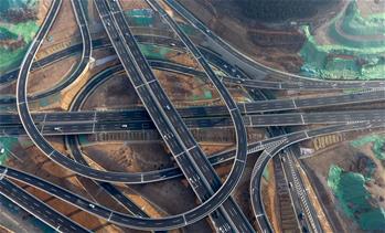 濟南最大的立交橋投入使用