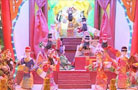 中国传统木偶戏在伦敦受欢迎