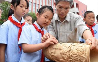 重慶:非遺文化進校園