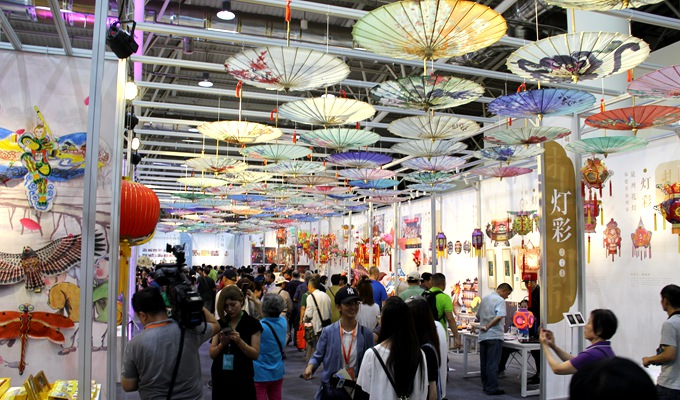 第五屆中國非物質文化遺産博覽會在濟南舉行