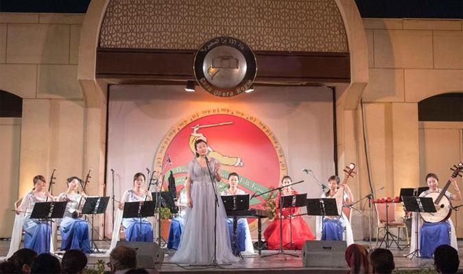 """开罗歌剧院举办""""丝竹华韵""""中国民族音乐会"""