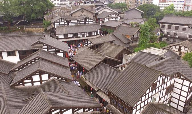 中国历史文化名镇西沱古镇重获新生