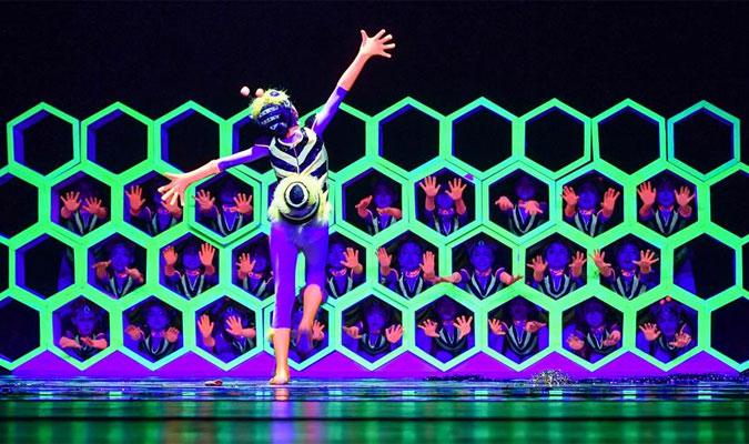 第十屆全國少兒舞蹈展演在廣州舉行