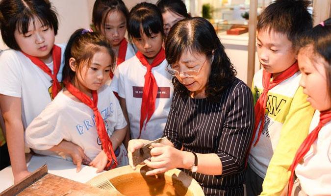 浙江湖州:非遺活態傳承館助力保護湖筆制作技藝