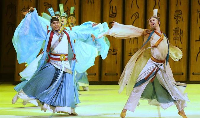 中国歌剧舞剧院交响合唱版舞剧《孔子》亮相俄罗斯