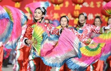 歡慶社火迎新春