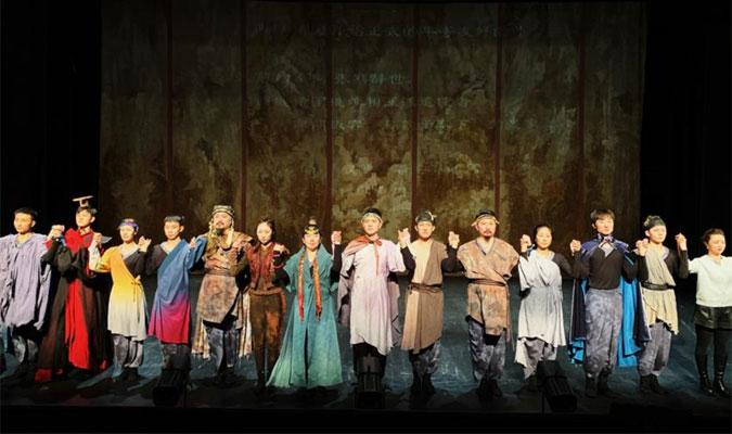 中国国家话剧院话剧《行者无疆》在巴黎上演