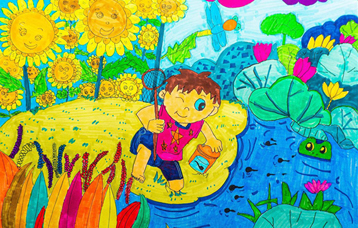 曹舒窈 北京市 幼兒組 《大自然,我們的家園》