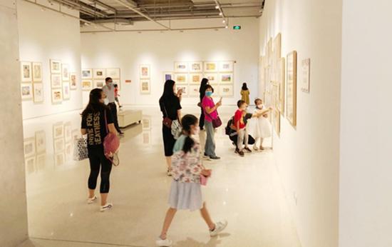 全國少兒美展亮相北京時代美術館