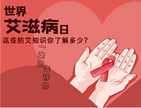 世界艾滋病日|這些防艾知識你了解多少?