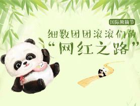 """國際熊貓節:細數團團滾滾們的""""網紅之路"""""""