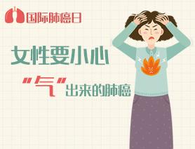 """國際肺癌日:女性要小心""""氣""""出來的肺癌"""